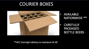 Courier Boxes - UK Mainland Delivery