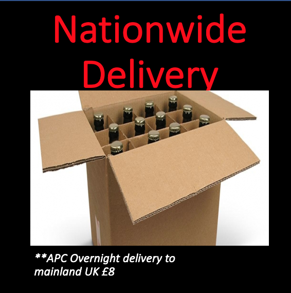 Beer Packaged for Courier Shipping